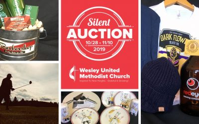 Results of the 5th Annual Wesley Silent Auction